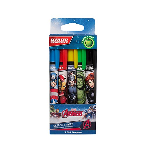 Marvel Avengers Crayons Scented Core