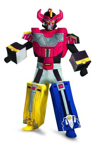 Disguise Morphin Rangers Megazord Costume