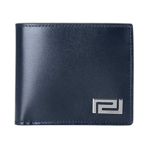 baf306b93325 Versace Wallet Mens. Versace EE3YSBPB4 EMAG Black Navy Card Holder ...