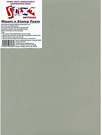 3xMount n Stamp Foam A4 Sheet