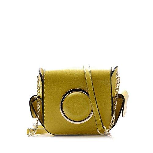 Viviesta Women's Genuine Leather Camera DSLR Designer Fashion Inspired Small Cross Body Shoulder Bag Handbag ()