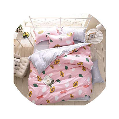 (CHELSEA EDWARDS Bedding Set Cartoon Brushed Four Piece Suit Comforter Bedding Sets Not Afford The Ball Not Fade Bed Linen for Kids Room,180cm)
