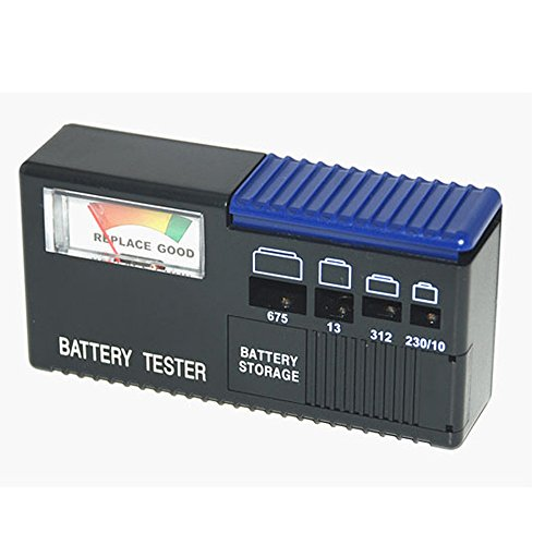 Hearing Aids Activair Battery Tester with Spare Battery Storage Case