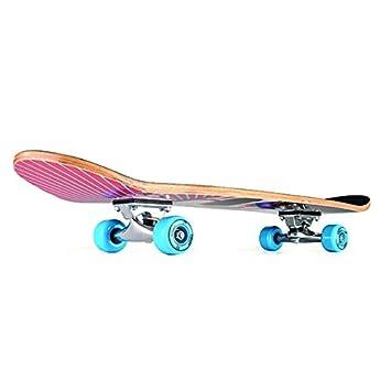 /78,7/x 20,3/cm Xootz Enfant Une Simple Double Kick Trick Skateboard Deck en Bois d/érable/