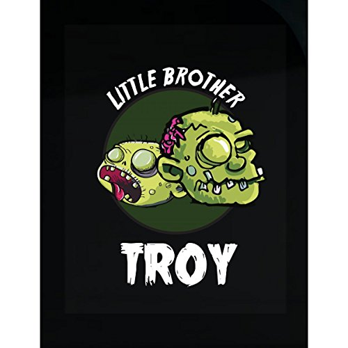 Prints Express Halloween Costume Troy Little Brother Funny Boys Personalized Gift - Sticker -