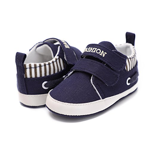 Pictures of Kuner Infant Baby Boys and Girls Canvas Blue 4