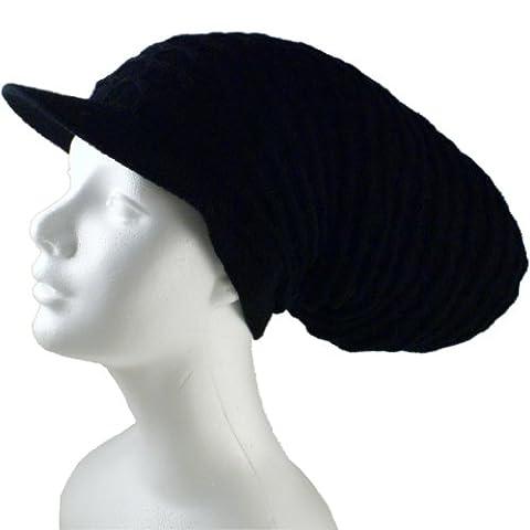 Rasta Dread Knit Tam Hat -