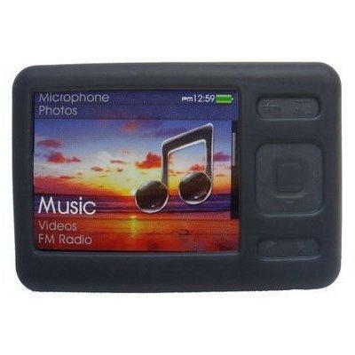 (Premium Black Silicone Skin Case For Zen 4Gb/8GB/16GB with Adjustable Sports ...)