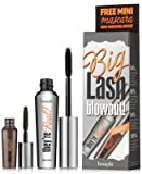 Benefit Cosmetics They're Real Beyond Mascara Black Big Lash Blowout Full Size and Mini Travel Size Set Duo