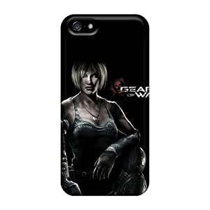 CristinaKlengenberg Iphone 5/5s Excellent Cell-phone Hard Cover Support Personal Customs Attractive Gears Of War 3 Pattern [VEc19138uIRx]