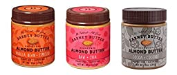 Barney Butter All Natural Almond Butter Variety Pack of 3