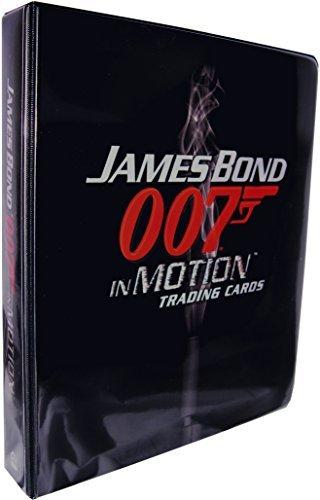 James Bond 007 in Motion Trading Card Album by James Bond