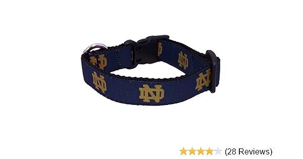 Amazon.com   All Star Dogs NCAA Notre Dame Fighting Irish Dog Collar    Sports   Outdoors ea2968cd3