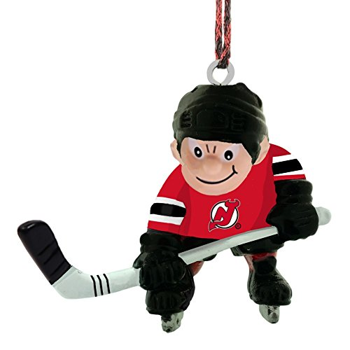 Final Touch Gifts New Jersey Devils Player Christmas Ornament