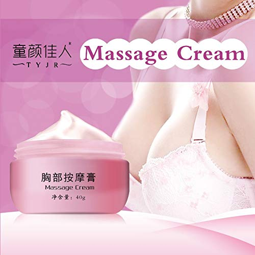 vmree Breast Enhancement & Enlargement Massage Cream, Firming and Lifting Must Up Cream for Women, Give You Bigger, Fuller Breasts, 1.4oz (40 g)