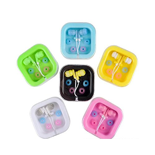 Bargain World Colorful Earbuds With Case (With Sticky for sale  Delivered anywhere in USA