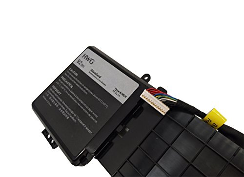 HWG 6JHDV Battery Compatible Dell Alienware 17 R2 5046J P43F Series, Fits P/N 6JHDV (14.8V 92WH) by HWG (Image #2)