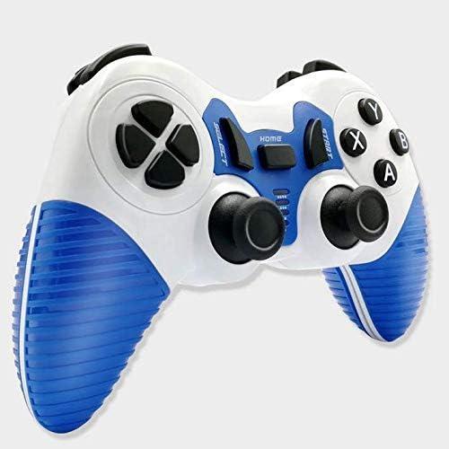 L&WB Controlador Inalámbrico Bluetooth Gamepad Joystick PC Compatible, PS3, Android, Decodificador, Smart TV, Etc,C: Amazon.es: Hogar