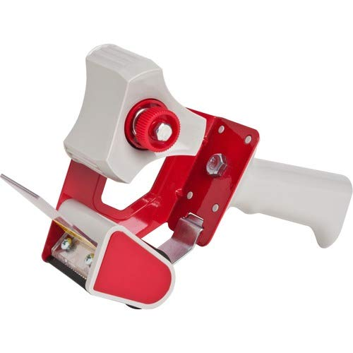 Sparco Products Products - Sealing Tape Dispenser, Adjust Tension Brake, Holds 2quot;W Tape - Sold as 1 EA - The pistol-grip dispenser holds 2quot; wide packaging tape with 3quot; core. Features an adjustable tension brake. Use Sparco 3750, 3710, 01530, 01613, 60042 and 60043 to refill.