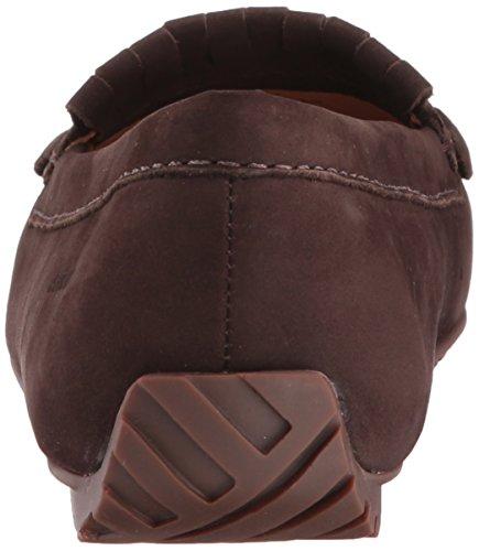 Kiltie Ballet Women's Tie Harper Flat Dk Sebago Nubuck Brown SZz4w