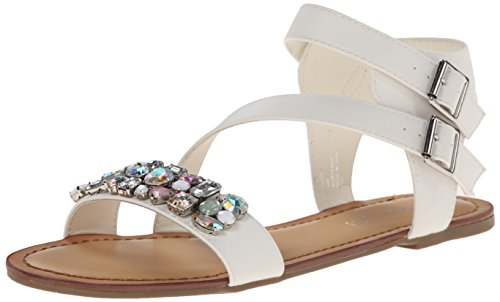887865285076 - Madden Girl Women's Kandis Sandal, White/Multi, 8.5 M US carousel main 0