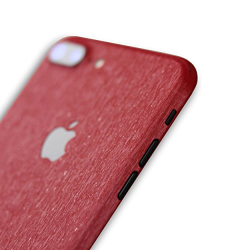 AppSkins Rückseite iPhone 7 PLUS Full Cover - Metal red