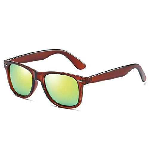 Cadre Coolsir polarisants soleil Mengonee 7 lunettes lunettes Hommes Femmes conduite de UV400 Lunettes Protection Rétro PC 0qpdqSx