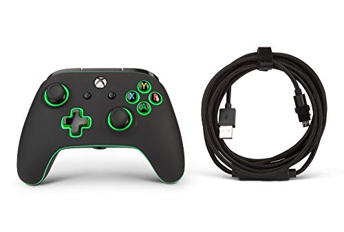 PowerA Spectra Enhanced Illuminated Wired Controller for Xbox One, X and Xbox One S - Xbox One 5