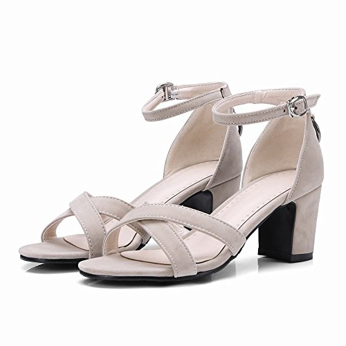 Sandaalit Beige Naisten Tanssi Nilkkalenkki Tem Kengät XqfgIxT