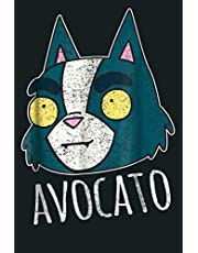 Final Space Avocato Distressed Design: Notebook Planner - 6x9 inch Daily Planner Journal, To Do List Notebook, Daily Organizer, 114 Pages