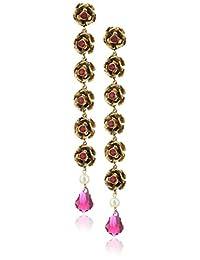 Marc Jacobs Pearl Flower Drop Earrings
