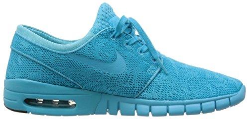 Nike Heren Stefan Janoski Max, Gamma Blauw / Gamma Blauw-zwart Maat 11