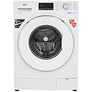 IFB 7.5 kg Fully-Automatic Front Loading Washing Machine (Elite Plus Vx ID, White, Inbuilt Heater, Aqua Energie water softener)