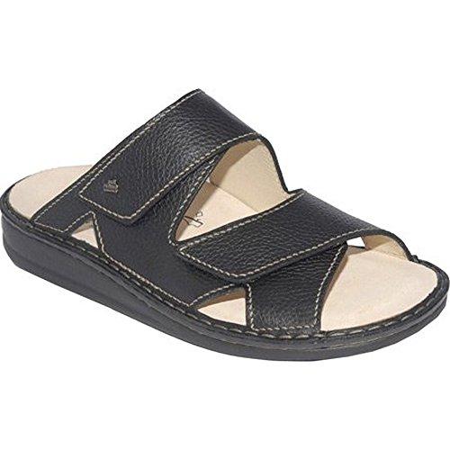 Finn Comfort Danzig-S Mens Sandals, Black Bison, Size - 45
