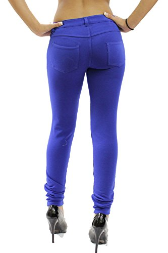 8 nbsp;– Fitted Super Vanilla Azul Jeans Mujeres Señoras Ink Jeggings nbsp;26 Elástico Nuevas vggqf1