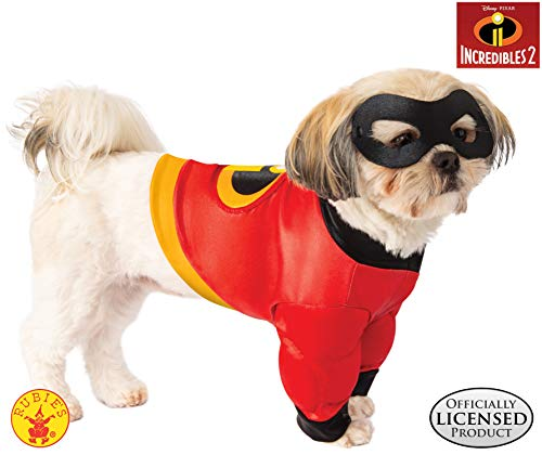 Rubie's Disney: Incredibles 2 Pet Costume Shirt and Mask, Small