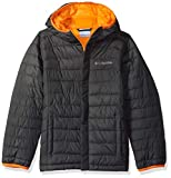 Columbia Boy's Little Powder Lite Puffer Water-Resistant Insulated Jacket, Grill X-Small