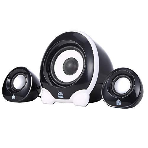 FOR ME Multimé dia Systè me de Haut-parleurs 2.1 USB | Puissance 11W | Enceinte PC Gamer avec Caisson de Basses pour Ordinateur FS-101