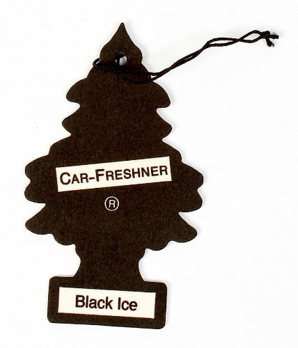 Little Trees Car Freshener, Black Ice, - Tree Ice