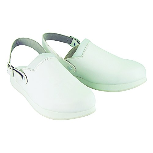Dessus Hopital Anti Blanc Sabot Chaussure Type avec Semelle dérapante 8dqng1c