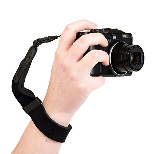 OP/TECH USA Mirrorless Neoprene Camera Wrist Strap (Black)