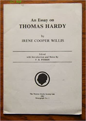 Thomas Custom Builders Business Plan An Essay On Thomas Hardy  Thomas Hardy Society Monograph No   Irene  Cooper Willis  Edited With An Introduction And Notes By F B Pinion    Learning English Essay Writing also English Essay Writing Help An Essay On Thomas Hardy  Thomas Hardy Society Monograph No   Essay On English Language