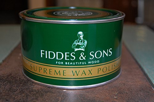FURNITURE FINISHING WAX 400ml FIDDES FURNITURE WAX CLEAR FOR CHALK PAINTED AND ALL WOODEN FURNITURE -LIKE Rust-Oleum by Fiddes