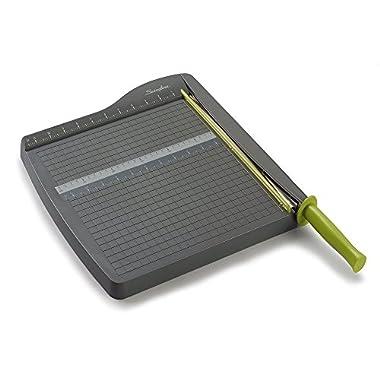 Swingline Paper Trimmer / Cutter, Guillotine, 12  Cut Length, 10 Sheet Capacity, ClassicCut Lite (9312)
