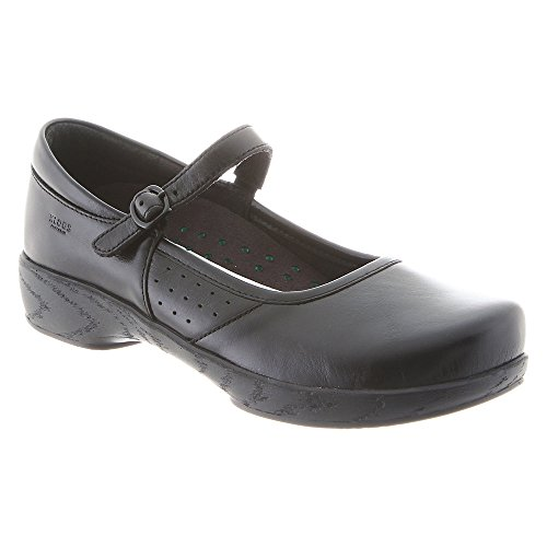 6 Klogs Wide Buckle Black Women's E Charleston Clog Tintoretto xXw1r4qXHS