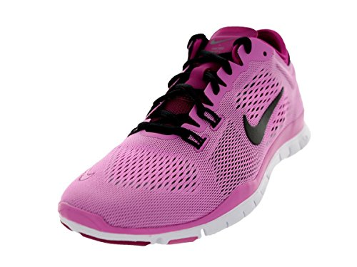 Nike Free 5.0 TR Fit 4 Damen Hallenschuhe Pink (Red Violet/Black-bright Magenta-white)