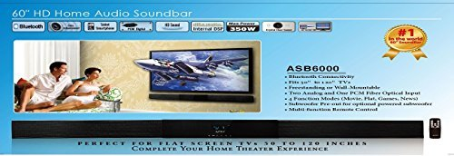 Apex digital the best amazon price in savemoney apex digital asb 6000 hd digital home theater sound bar 350w fandeluxe Gallery