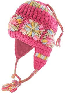 7e3674f353a Amazon.com   Nirvanna Designs CH306 Long Tassel Earflap Hat with ...