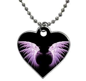 Amazon.com : purple angel wings black wallpaper Pet Dog ...