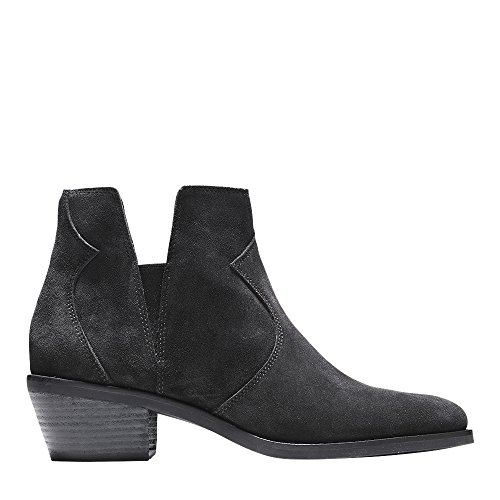 Cole Haan Donna Alayna Bootie Ii Nero Suede